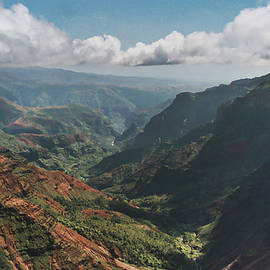 Kauai Hawaii Canyon by Mary Lee Dereske