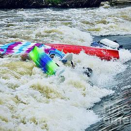 Kayak Chaos by J Lloyd