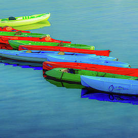 Kayak Colors by Marcy Wielfaert