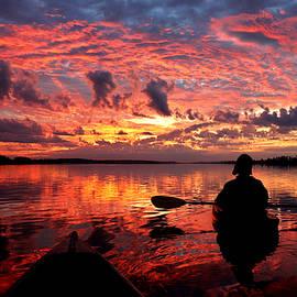 Kayak Dawn on Wimbee Creek by Matt Richardson
