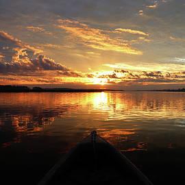 Kayak Sunrise by Matt Richardson