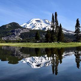 Kayak View of Sparks Lake by Dana Hardy