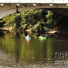 Kayaking The St. Joseph River            August         Indiana by Rory Cubel