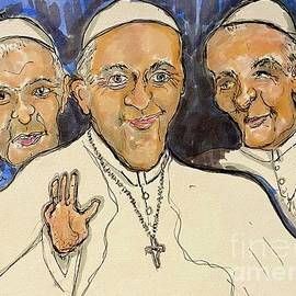 Keeping Up With The Popes Benedict Francis Paul by Geraldine Myszenski