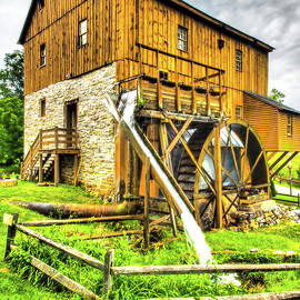 Kennedy Wade Grist Mill 295 by James C Richardson