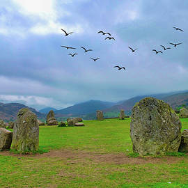 Keswick Stones by Cathy P Jones