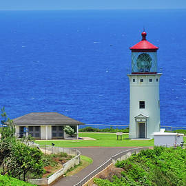 Kilauea Lighthouse by Cathy P Jones