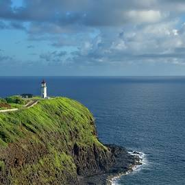 Kilauea Lighthouse Kauai Island by Heidi Fickinger
