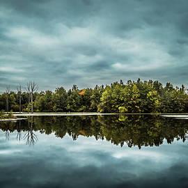 Killdeer Plains Pond by Shellie Hill