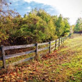 Kinder Farm Fence by Brian Wallace