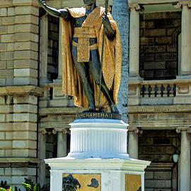 King Kamehameha Statue by Maria Keady