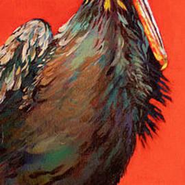 King Rex, a Louisiana Pelican by Dianne Parks