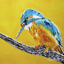 Kingfisher I by Diane Marcotte