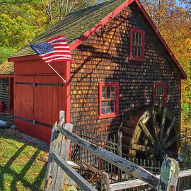 Kingsbury Grist Mill in Medfield Massachusetts by Juergen Roth