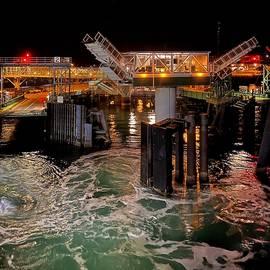 Kingston Ferry Landing by Jerry Abbott