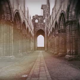 Kirkstall Abbey Interior by Arro FineArt