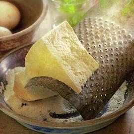 Kitchen - Food - Fresh Parmesan cheese by Mike Savad