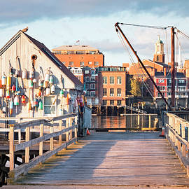 Kittery Maine Waterfront Scene by Eric Gendron