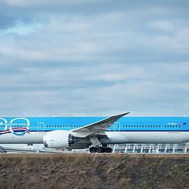KLM Royal Dutch Airlines Jet PH-BKA Boeing 787-10 Hartsfield Jackson Atlanta International Airport  by Reid Callaway