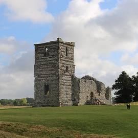 Knowlton Church by Michaela Perryman