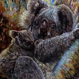 Koala Mother and Child by Helen Duley