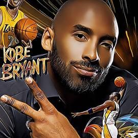 Kobe Bryant by Karen Showell