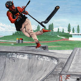 Kobold Kick Scooter Tricks by Ted Helms