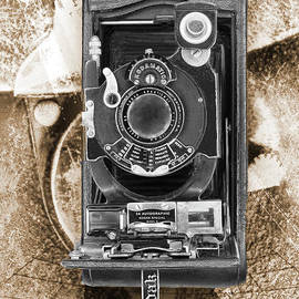 Kodak 3a Autographic Special Model B - Black And White by Anthony Ellis