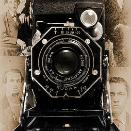 Kodak Jr Six-20 Series Ii - B And W by Anthony Ellis