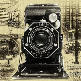 Kodak Junior Six-20 Series Ii - Monochromatic by Anthony Ellis