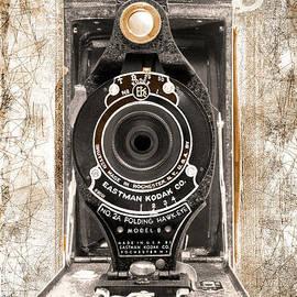 Kodak No. 2a Folding Hawk-eye Model B - Black And White by Anthony Ellis
