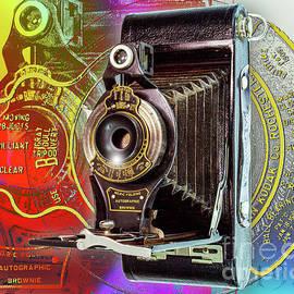 Kodak No. 2c Folding Autographic Brownie by Anthony Ellis