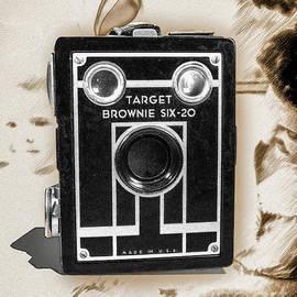 Kodak Target Brownie Six-20 - Monochrome by Anthony Ellis