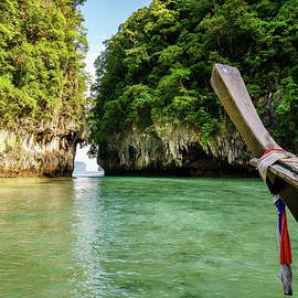 Koh Hong Island hidden lagoon by Alexey Stiop