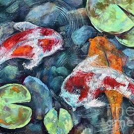Koi's  Fish by Mariia Browne