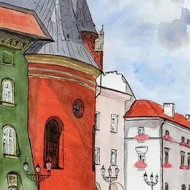 Kracow, nearby the Main Square by Tatiana Bushmanova