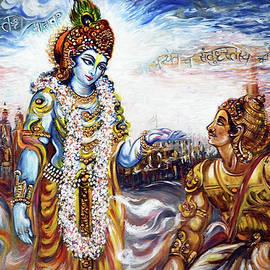 Krishna - Arjuna - Bhagwat Geeta by Harsh Malik