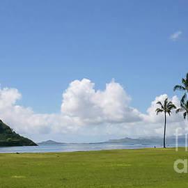 Kualoa Regional Park, Oahu Hawaii by Connie Raynor