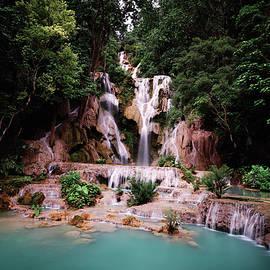 Kuang Si Falls  by Sinsee Ho