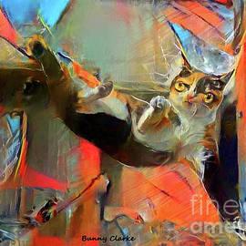 Kung Fu Kitty by Bunny Clarke