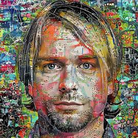 Kurt Cobain 1a by Stefano Menicagli