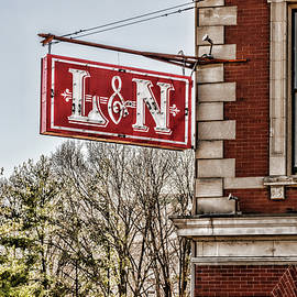 L and N Sign by Sharon Popek