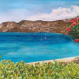 La Herradura Bay by Carolina Prieto Moreno