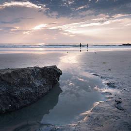 La Jolla Shores Fishermen by William Dunigan