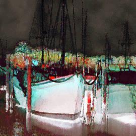 La Marina Painting 3 by Miss Pet Sitter