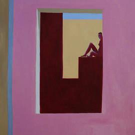 La pared rosa by Victoria Sheridan