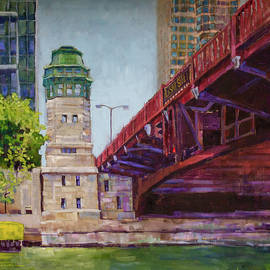 La Salle Street Bridge by Steve Lappe