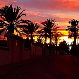 La Zenia Sunset by John Hughes