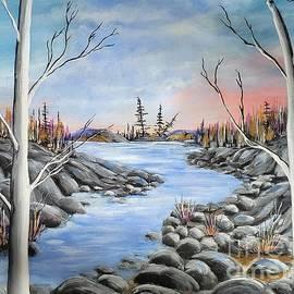 Labrador River  by Beverly Livingstone
