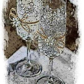 Lace Glasses by Eloise Schneider Mote